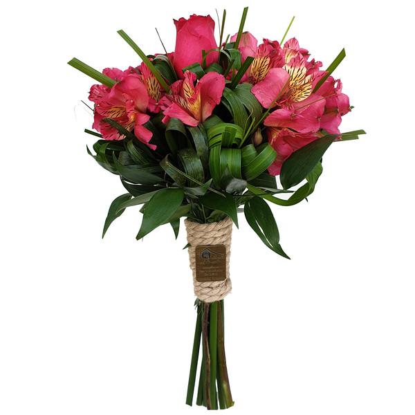 دسته گل کلبه گل سن سون مدل DG-11013