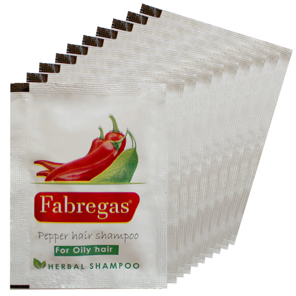 شامپو مو فابریگاس مدل فلفل حجم 10 میلی لیتر بسته 10 عددی