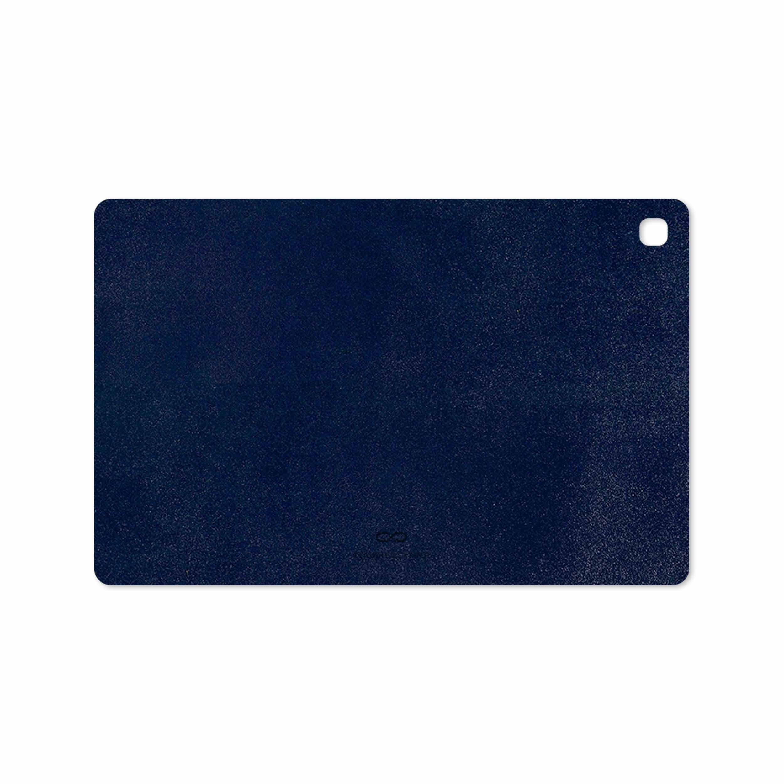 بررسی و خرید [با تخفیف]                                     برچسب پوششی ماهوت مدل Deep-Blue-Leather مناسب برای تبلت سامسونگ Galaxy Tab S5e 10.5 2019 T725                             اورجینال