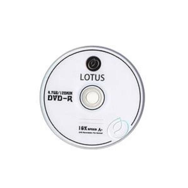دی وی دی خام لوتوس مدل LU بسته 2 عددی