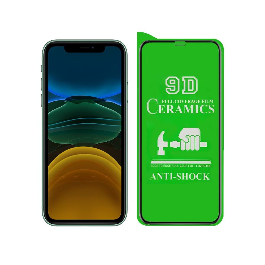 محافظ صفحه نمایش سرامیکی مدل YGL-S مناسب برای گوشی موبایل اپل IPHONE XR/11