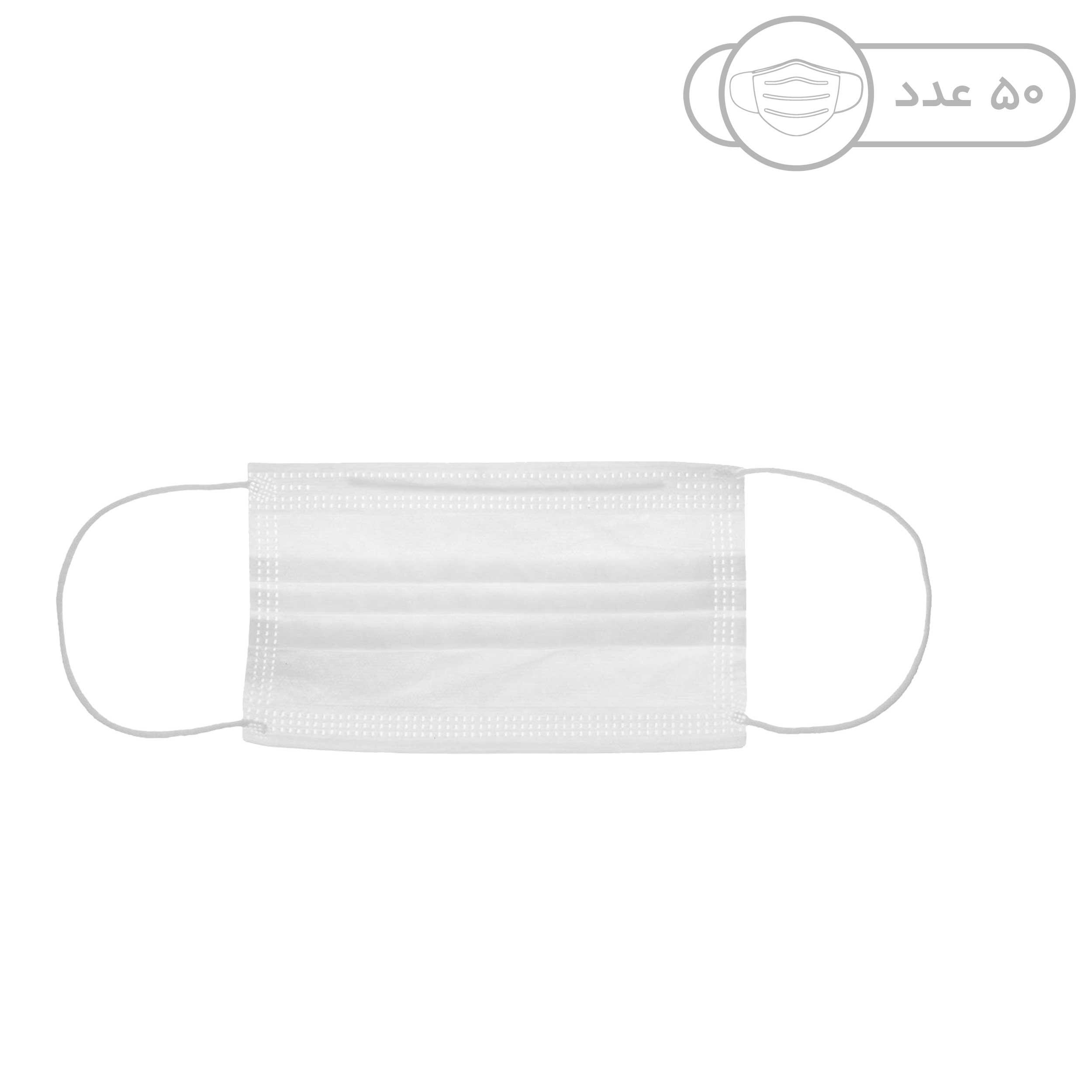 ماسک تنفسی نیک رای مدل S03 بسته 50 عددی