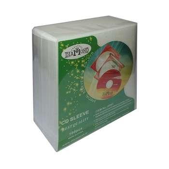کاور CD-DVD ضد خش دیاموند بسته 100 عددی