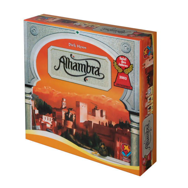 بازی فکری مدل Alhambra