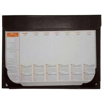 تقویم رومیزی مدل  زیردستی اداری مدل CH-T همراه با تقویم سال 1400