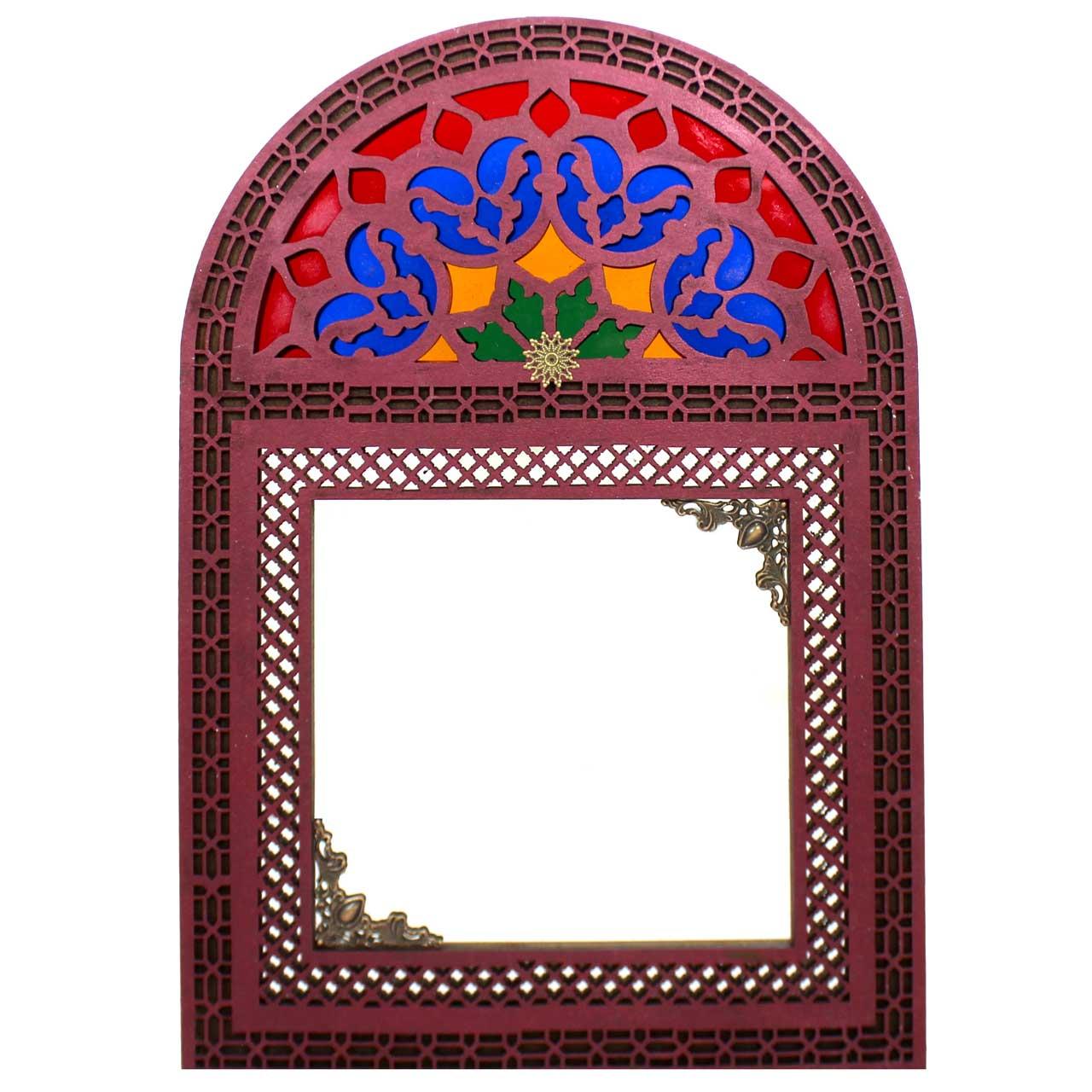 آینه دست نگار طرح سنتی کد 02-20