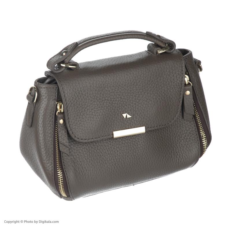 کیف دستی زنانه چرم مشهد مدل S5103-053