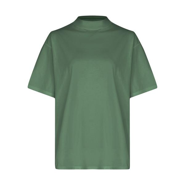 تی شرت آستین کوتاه زنانه گری مدل H42
