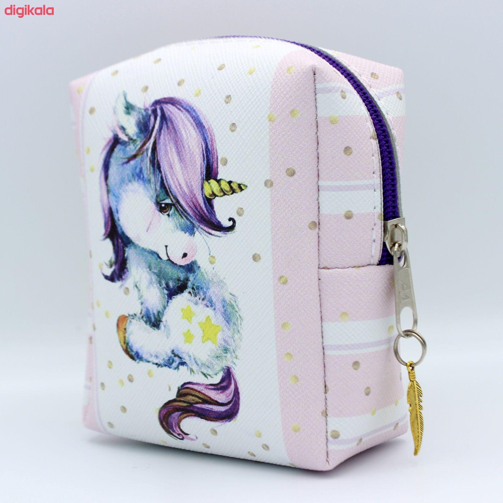 کیف نوار بهداشتی طرح اسب تک شاخ کد A037