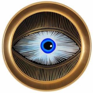 بشقاب تزیینی مدل چشم نظر no.1