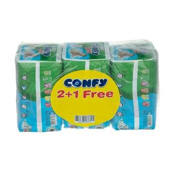 پوشک بچه کانفی کد 002 سایز 5 مجموعه 3 عددی