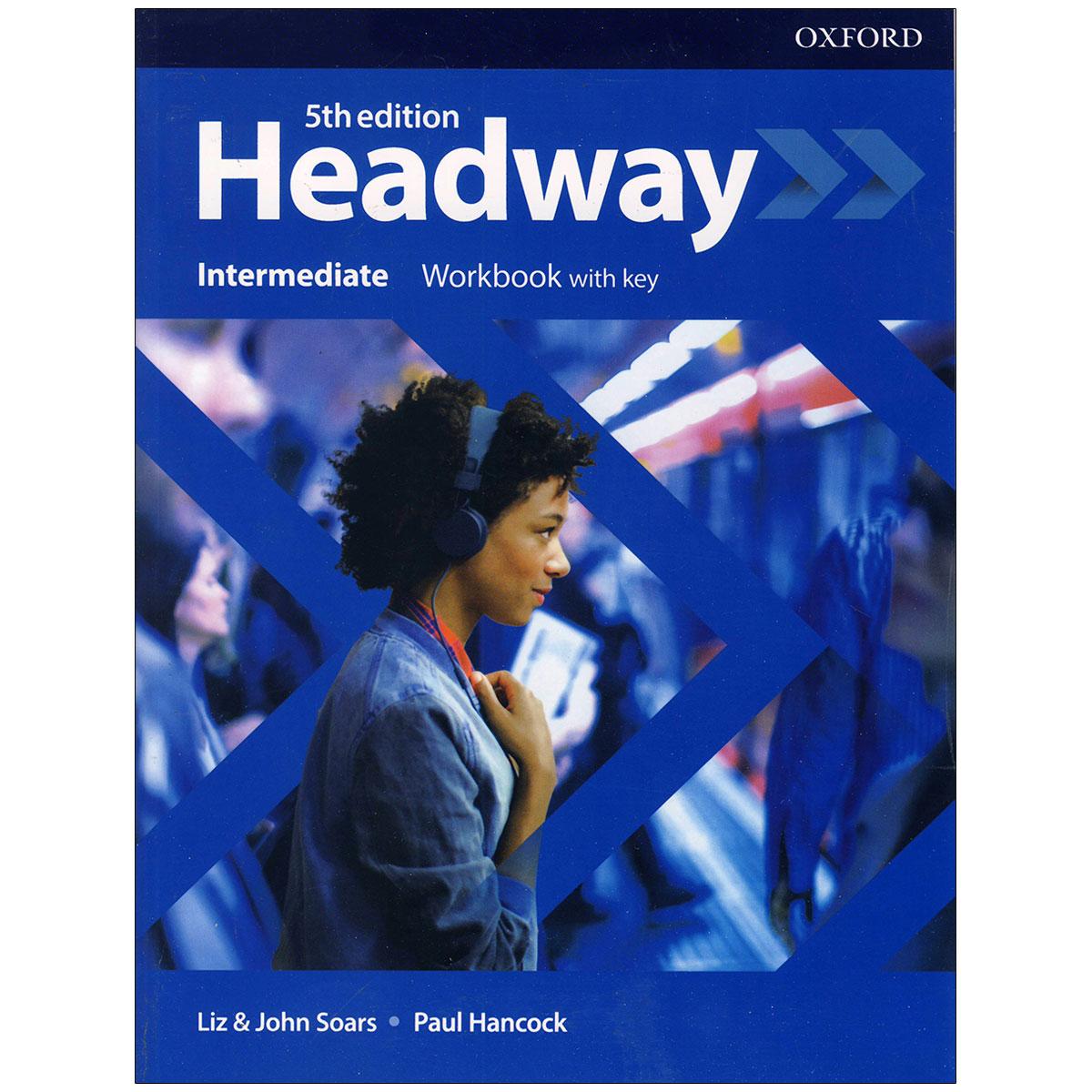 کتاب  headway intermediate 5th edition اثر john and liz soars and Paul Hancock انتشارات آکسفورد thumb 2 2