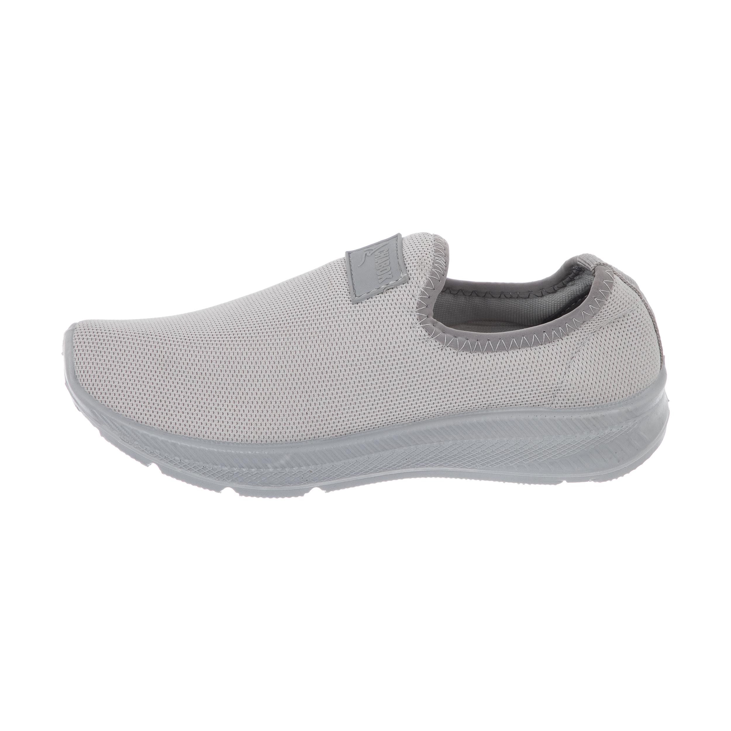 کفش راحتی چابک مدل رامش رنگ طوسی -  - 2