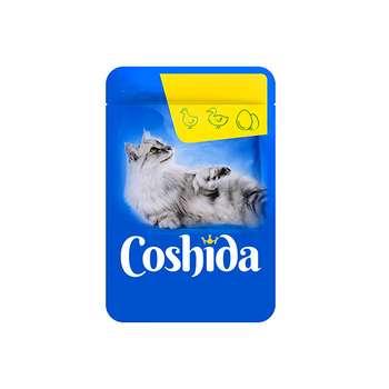 غذای تشویقی گربه کوشیدا مدل chiken&liver وزن100 گرم