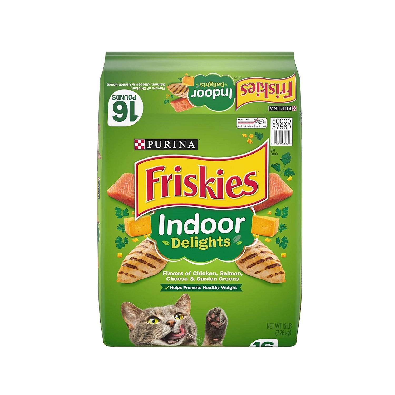 غذای خشک گربه فریسکیز مدل indoor وزن 1420 گرم