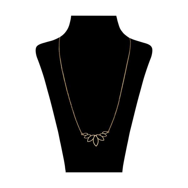 گردنبند طلا 18 عیار زنانه نیوانی مدل N1067