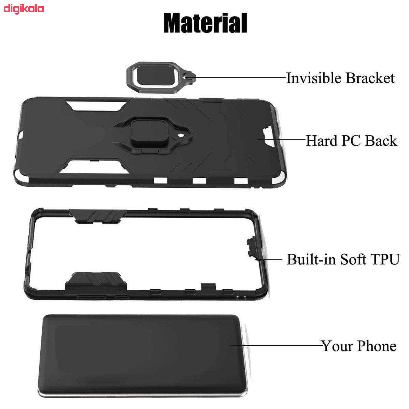 کاور کینگ پاور مدل ASH22 مناسب برای گوشی موبایل هوآوی P30 Lite main 1 6