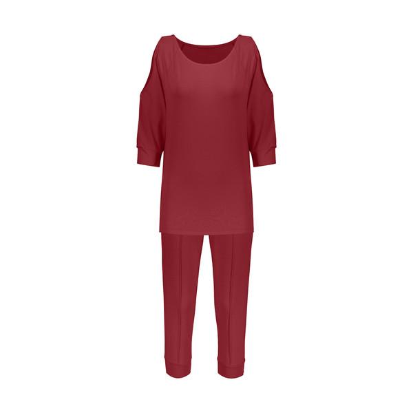 ست تی شرت و شلوارک زنانه گارودی مدل 1110307101-33