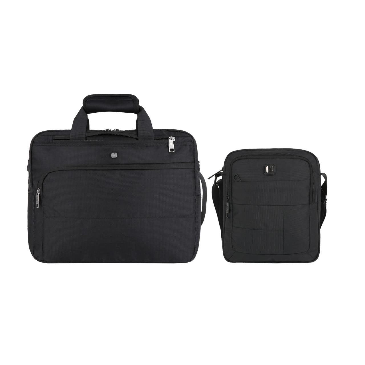 کیف لپ تاپ گابل مدل Dark 410620 مناسب برای لپ تاپ 15 اینچی به همراه کیف دوشی