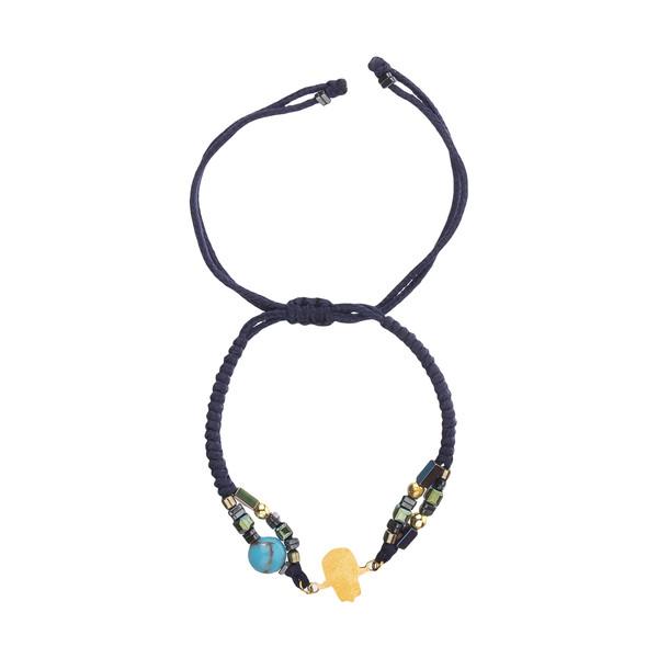دستبند طلا 18 عیار زنانه نیوانی مدل Ba1006