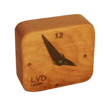 ساعت رومیزی چوبی ال وی دی مدل SL-M