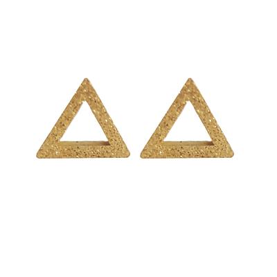 گوشواره زنانه طرح مثلث کد 8