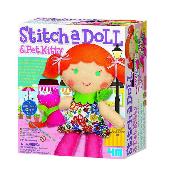 کیت آموزشی 4ام مدل Stich a Doll کد 45618