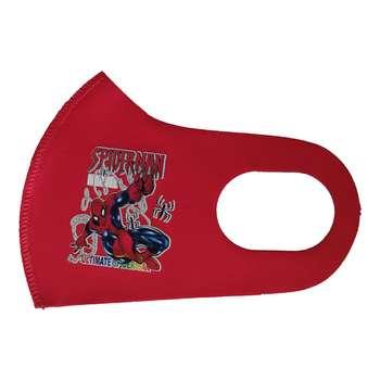 ماسک تزیینی بچگانه طرح مرد عنکبوتی کد 30645 رنگ قرمز