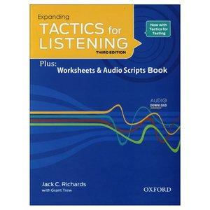 کتاب Expanding Tactics For Listening اثر Jack C.Richards and Grant Trew انتشارات زبان مهر