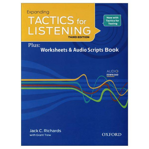 کتاب Expanding Tactics For Listening اثر Jack C.Richards and Grant Trew انتشارات زبان مهر