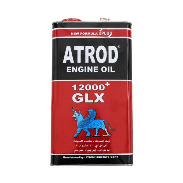 روغن موتور خودرو آترود مدل 12000GLX ظرفیت 4.5 لیتر