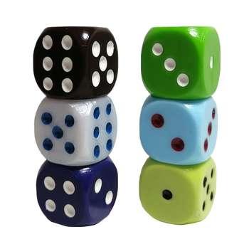 تاس بازی کد ATY05 مجموعه 6 عددی