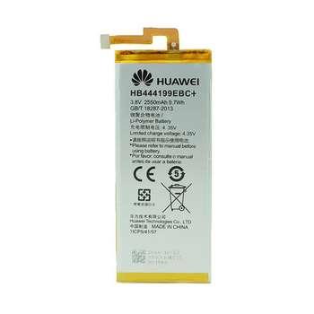 باتری موبایل مدل HB444199EBC ظرفیت 2550mAh مناسب برای گوشی موبایل آنر 4C