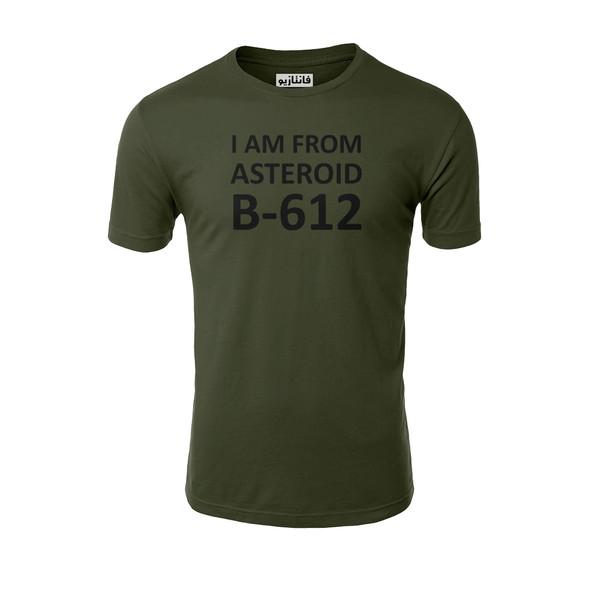تیشرت آستین کوتاه مردانه فانتازیوطرح B-612 مدل 241 کد SHLPP019