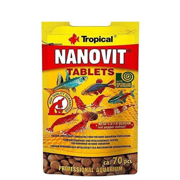 غذای آبزیان تروپیکال کد 1665843 مدل Nanovit وزن 10 گرم