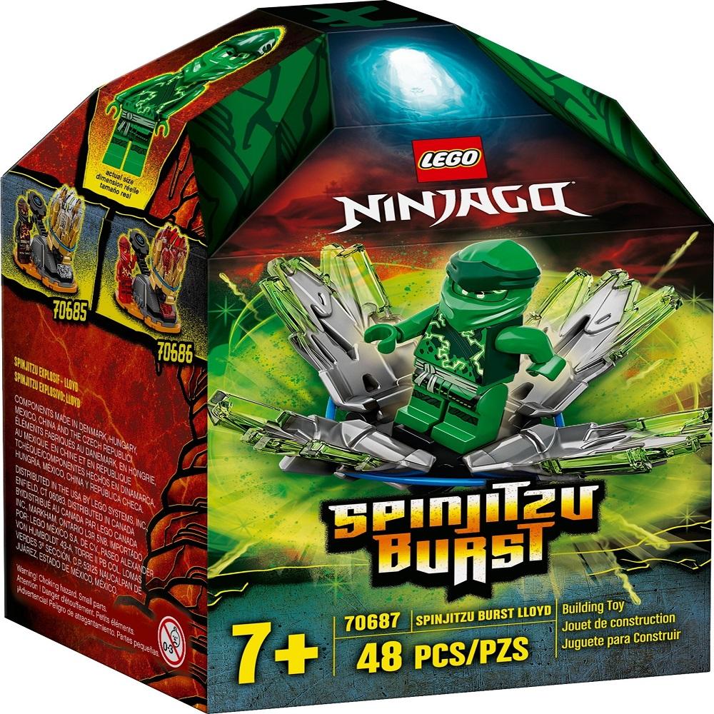 لگو سری Ninjago مدل Spinjitzu Burst Kai 70687