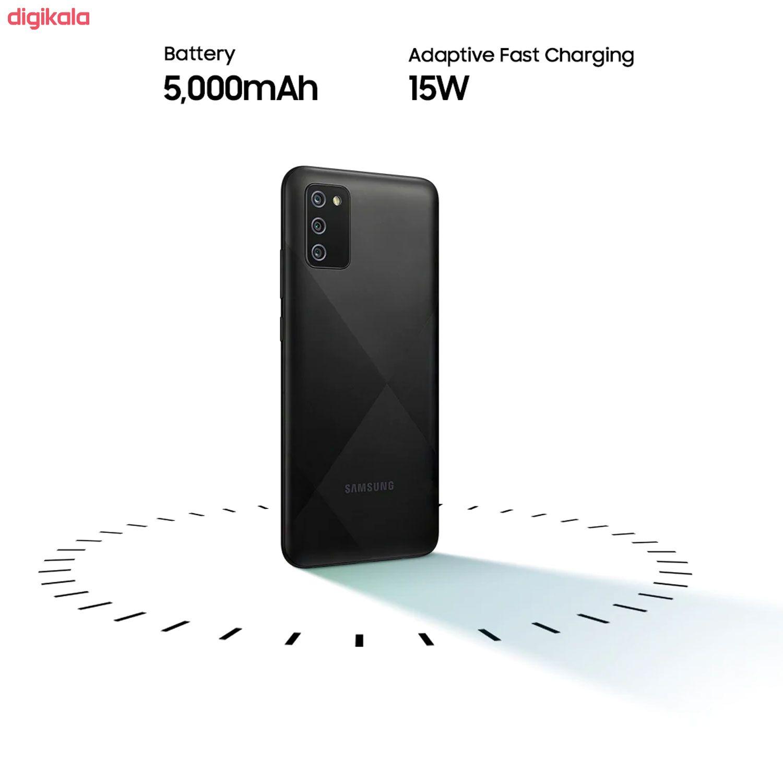 گوشی موبایل سامسونگ مدل Galaxy A02s SM-A025F/DS دو سیم کارت ظرفیت 32 گیگابایت main 1 4