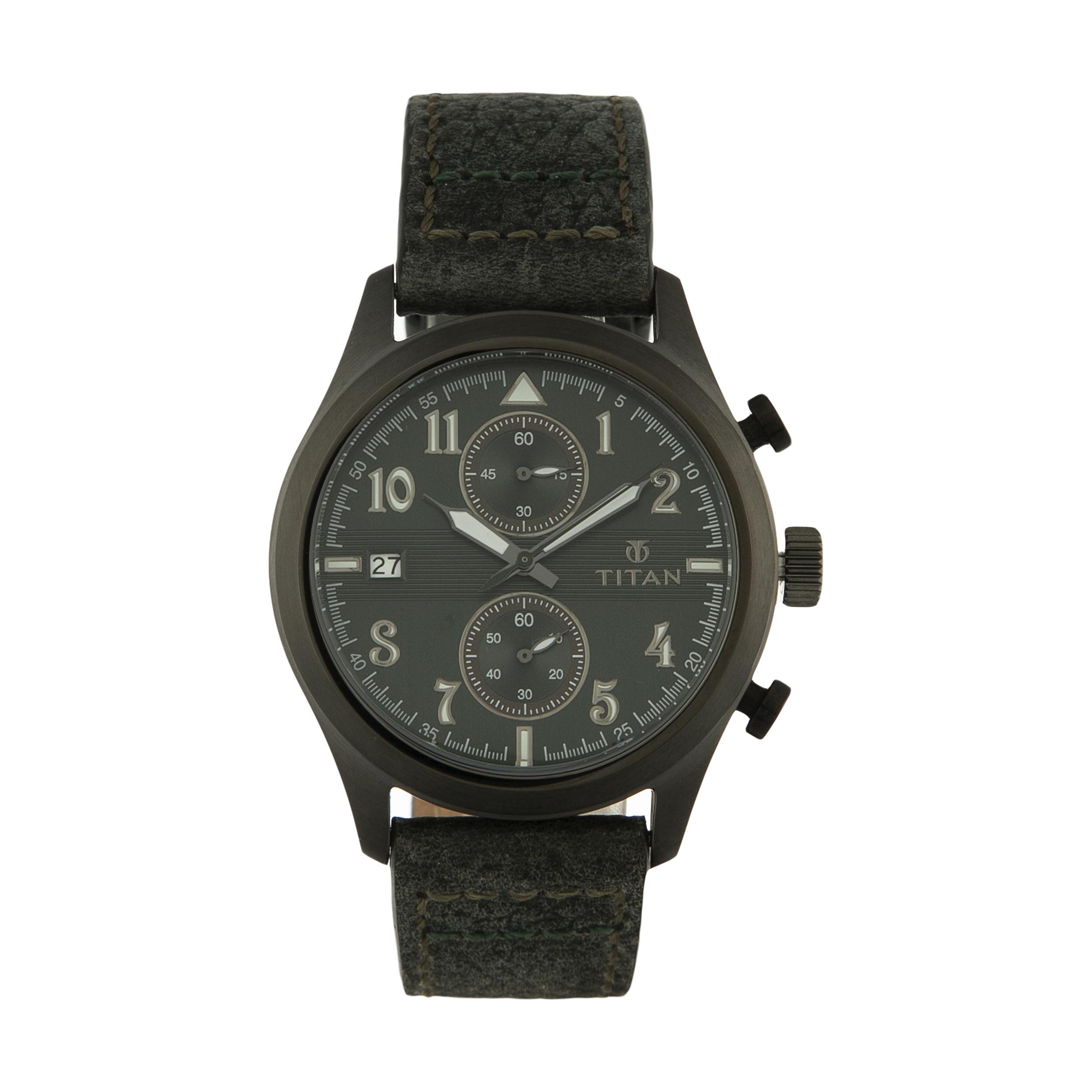 ساعت مچی عقربه ای مردانه تیتان مدل T90052QL02