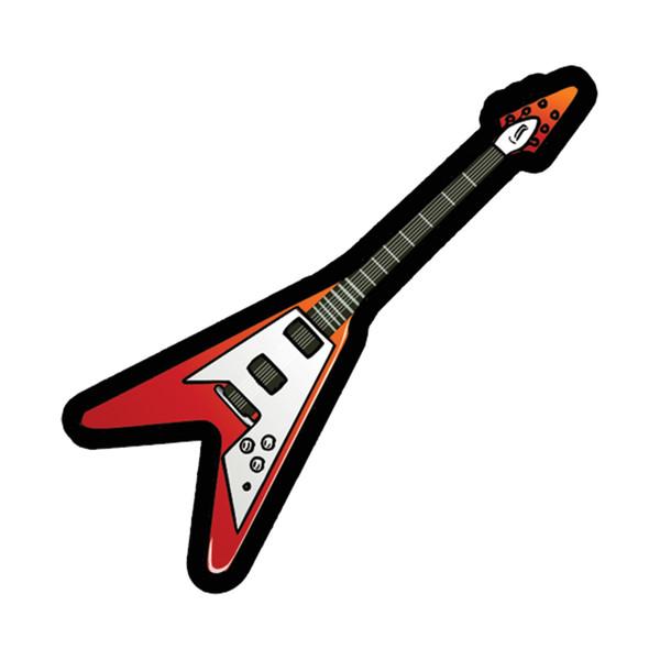 استیکر لپ تاپ طرح گیتار برقی کد 2243
