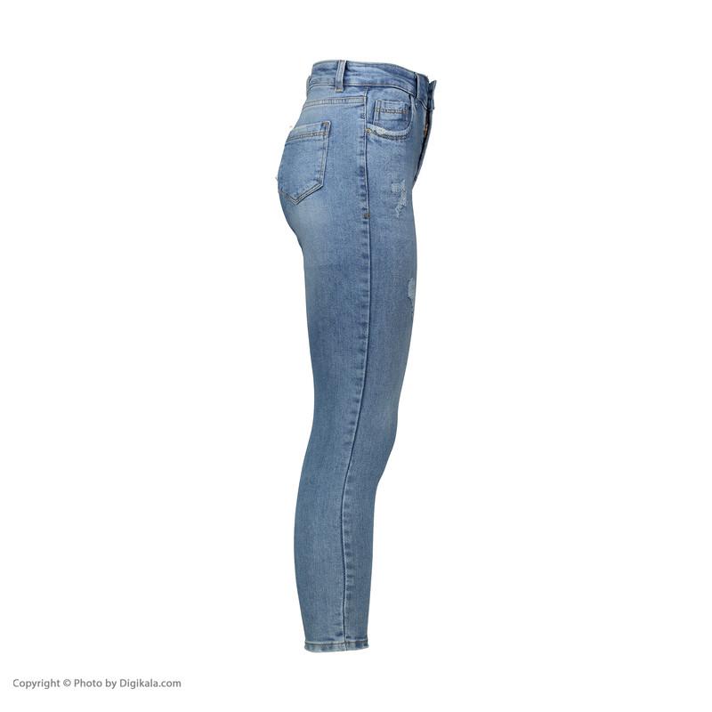 شلوار جین زنانه کیکی رایکی مدل BB3342-100