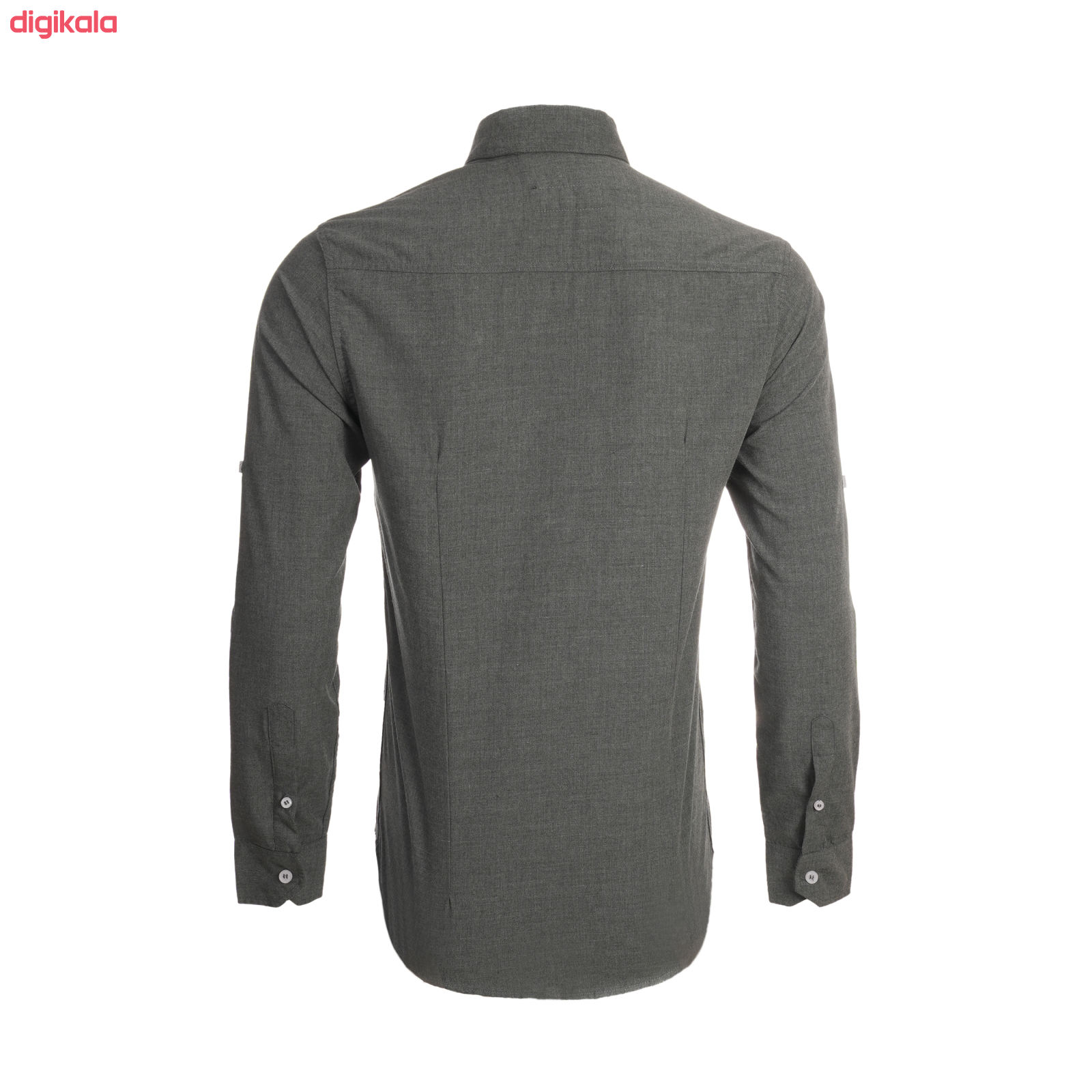 پیراهن آستین بلند مردانه ناوالس مدل MLANZH-TC main 1 3
