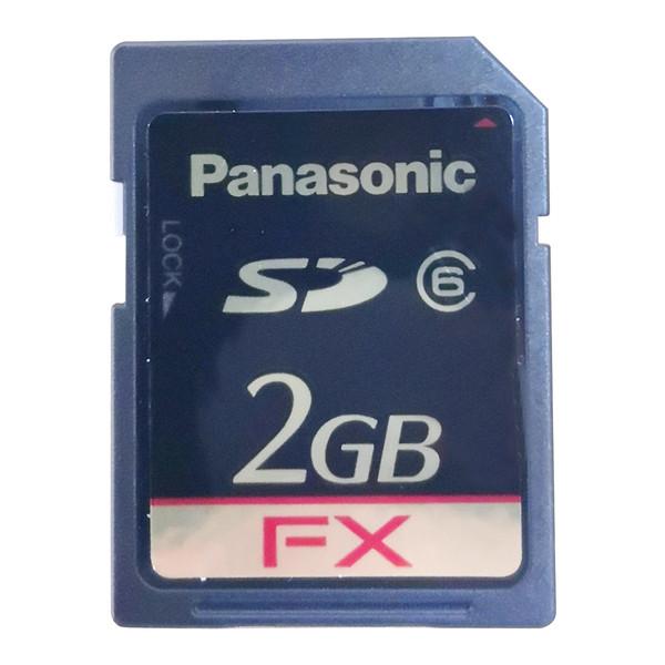 کارت حافظه SD سانترال پاناسونیک مدل KX-NS5134کلاس6 استاندارد باظرفیت 2 گیگابایت