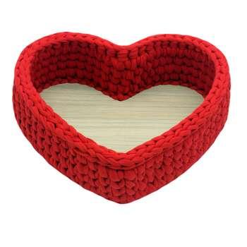 سبد قلاب بافی تریکو طرح قلب مدل behbaft03
