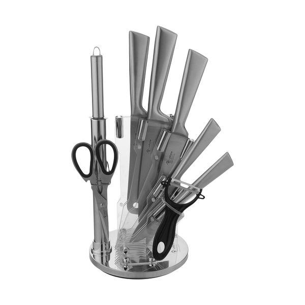 سرویس چاقو آشپزخانه 9 پارچه یونی هوم مدل RL-KS16
