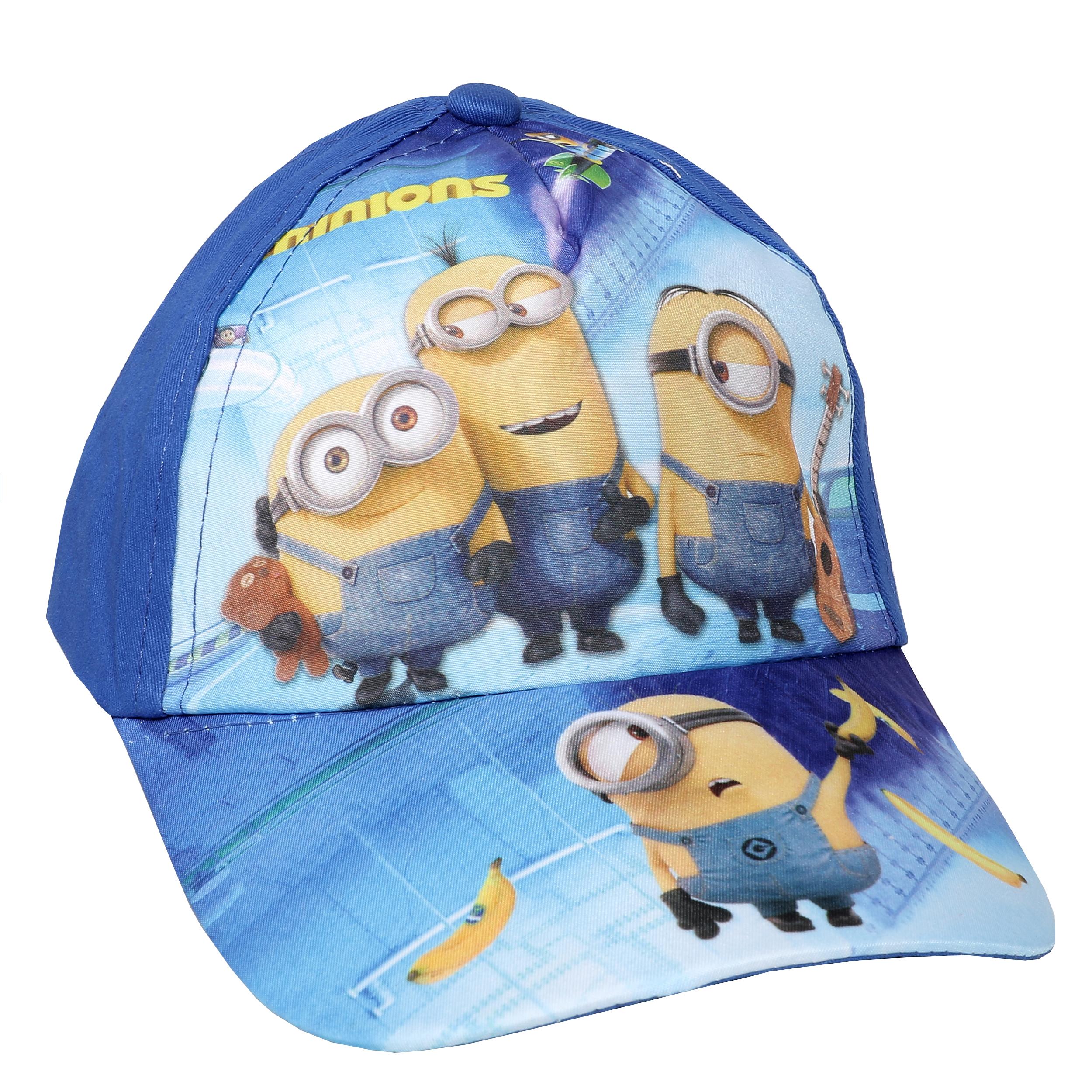کلاه کپ پسرانه طرح مینیون مدل DD