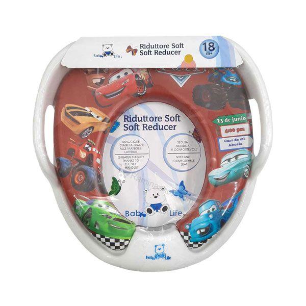 تبدیل توالت فرنگی کودک بیبی فور لایف مدل cars