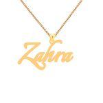 گردنبند طلا 18 عیار زنانه کرابو طرح زهرا مدل Kr1-107