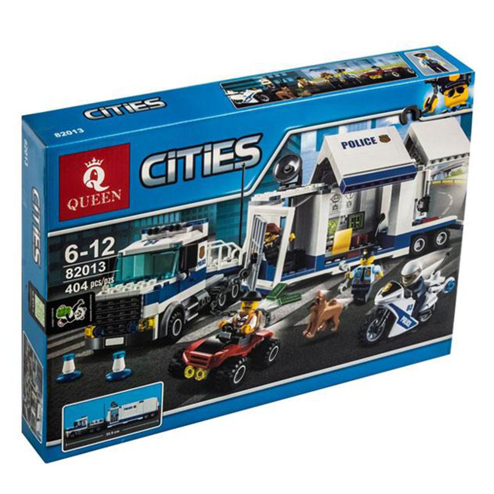 ساختنی مدل queen 82013 police truck