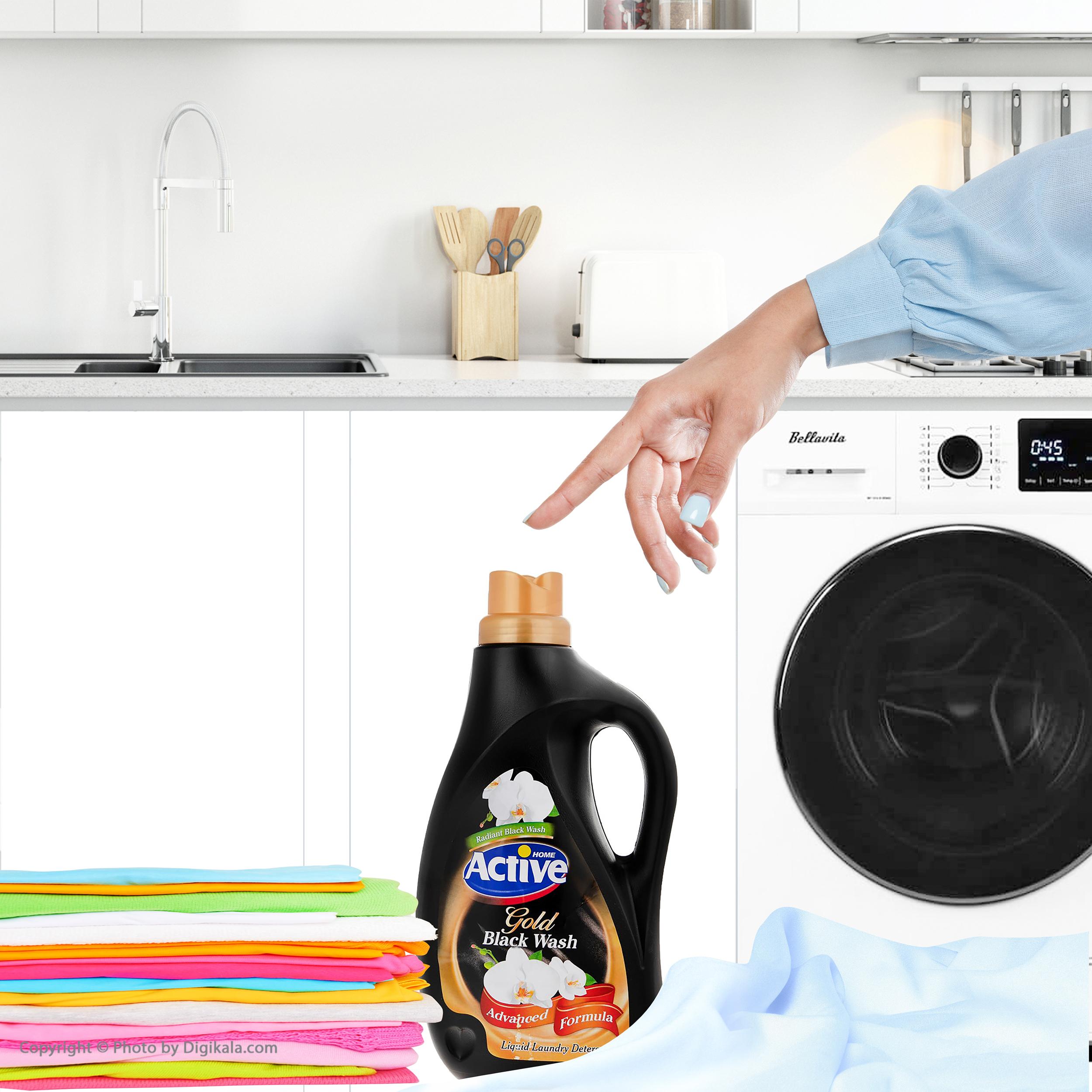 مایع لباسشویی اکتیو مخصوص لباس های تیره حجم 2500 گرم main 1 5