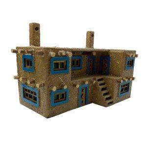 ماکت دکوری طرح خانه ی کاه گلی کد 9